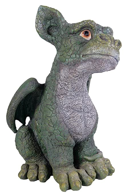 Outdoor Dragon Statue Coy Green Dragon Statue