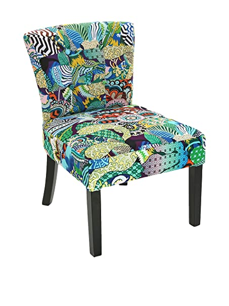 Versa 19500904 Sessel, Finish Tropical Patchwork, blau