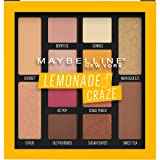 Maybelline Lemonade Craze Eyeshadow Palette Makeup, 12 Shade Eyeshadow Palette, Lemonade Craze, 0.26 fl. oz. (Color: Lemonade Craze)