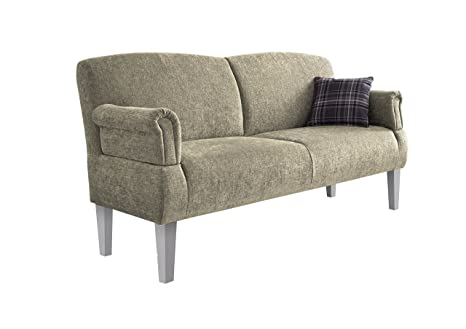 Cavadore 5900984019676 3er Sofa, Schaumstoff, beige, 181 x 81 x 98 cm