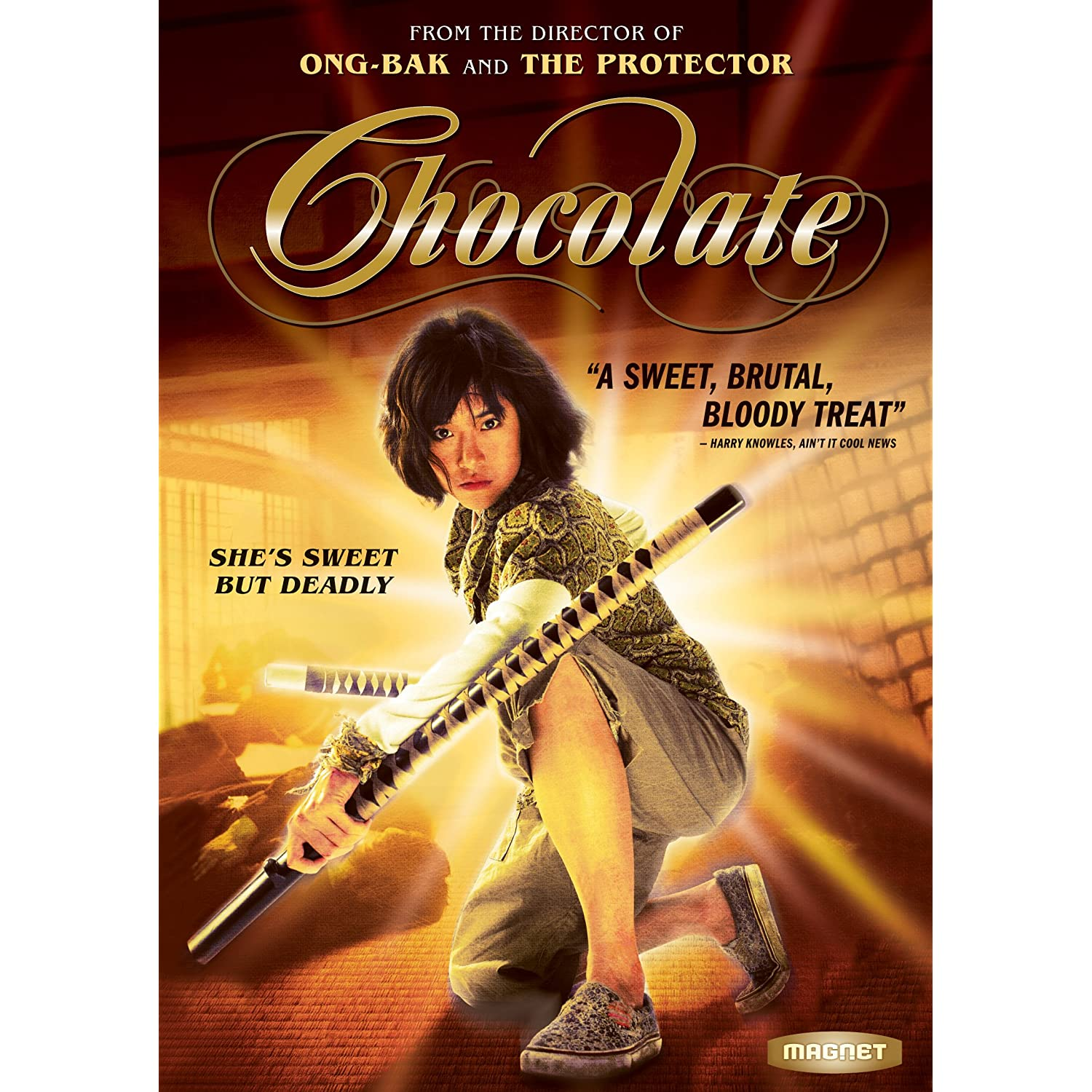 Chocolate DVD Cover