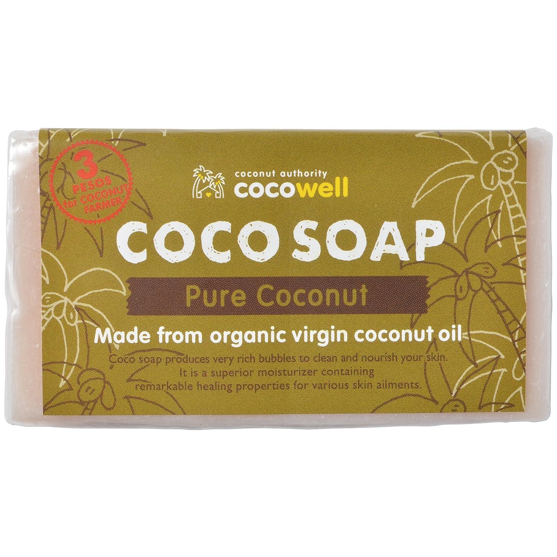 【ココウェル】オーガニック「ココソープ」 高級バージンココナッツオイルを贅沢に使用した石けん