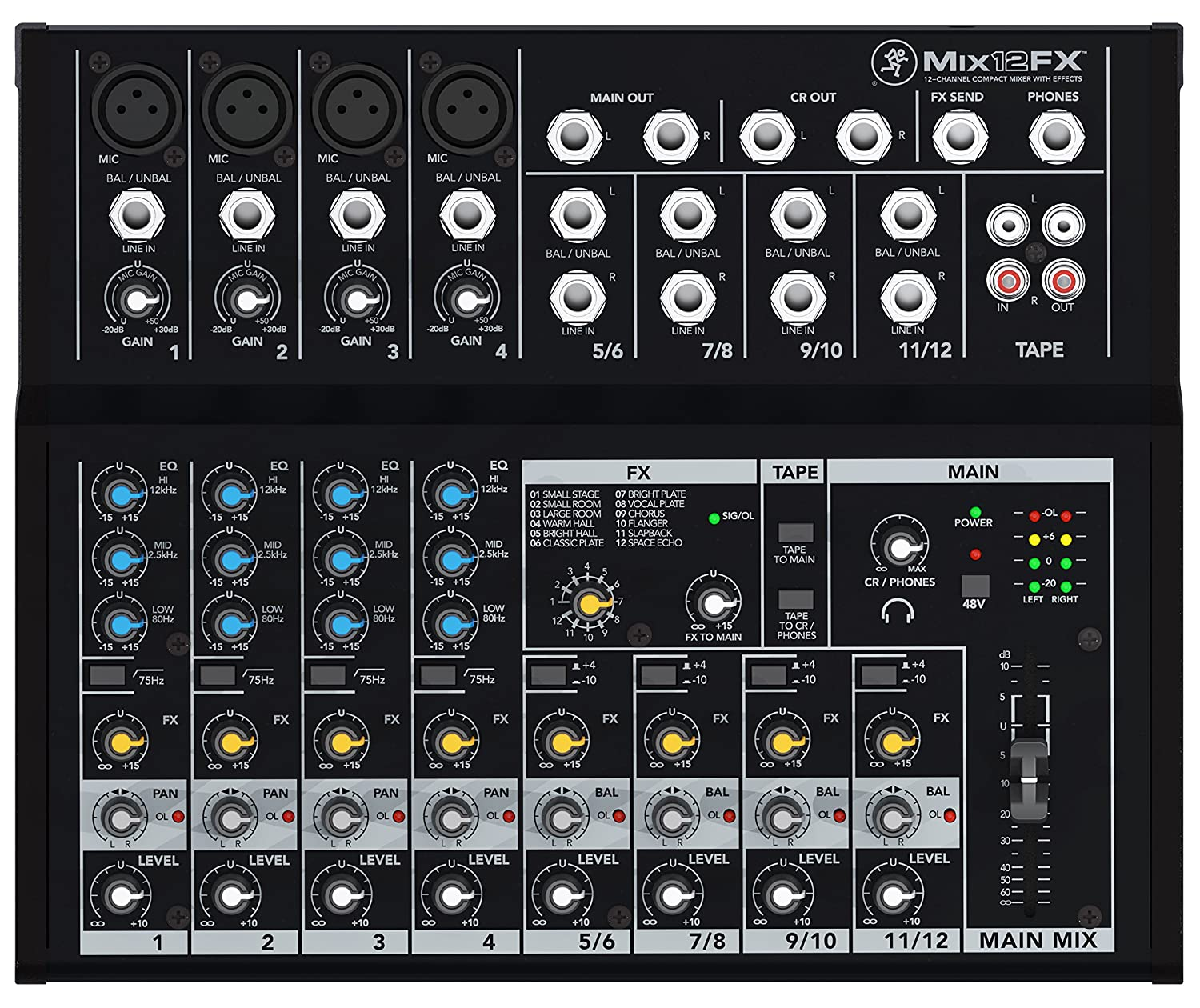 Top 10 Best Stage Powered Mixers Reviews 2019 2020 On