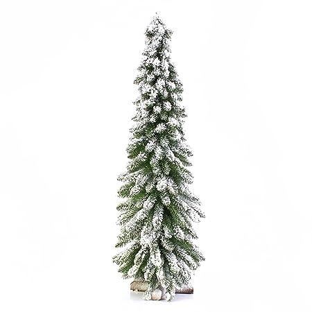 Set 2 xÁrbol de navidad MONTREAL, nieve artificial, 310 ramas, 120 cm, Ø 40 cm - 2 unidades de Abeto artificial / Elemento decorativo - artplants