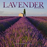 Garden Calendar - Lavender Calendar - Flower Calendar - Calendars 2018 - 2019 Wall Calendars - Garden Calendars - Flower Calendar - Lavendar 16 Month Wall Calendar by Avonside