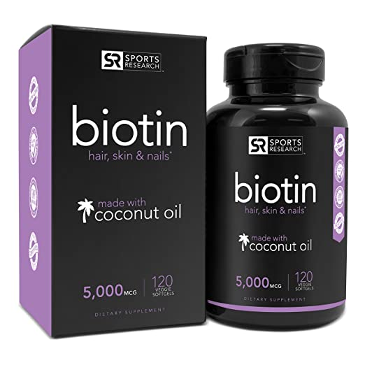 Biotin (High Potency) 5000mcg Per Veggie Softge