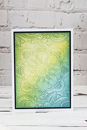 Die'sire EF5-3D-INDS 3D Embossing Folder, Clear (Color: Clear)
