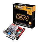 ZOTAC Atom Dual-Core 1.6GHz MCP7A-ION HDMI A&V&GbE Mini ITX Motherboard - IONITX-F-E