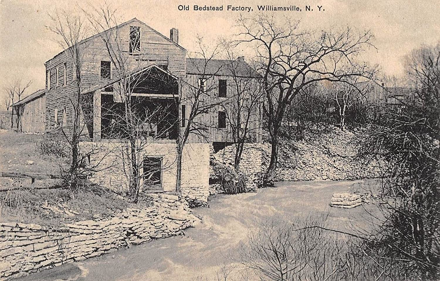 Old Bedstead Factory in Williamsville, New York
