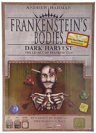 Les organes de Frankenstein - Jeu de société récolte foncé