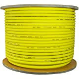 GLS AUDIO Bulk Microphone Cable 300' Yellow Mic -300ft Signal mike cable