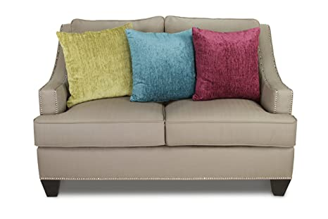 Furniture of America Sabella Love Seat, Taupe