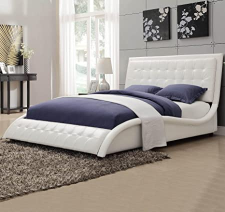 Tully Queen Bed White