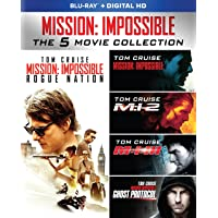 Mission: Impossible The 5 Movie Collection [Blu-ray]