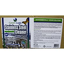 Green Logic GLSS-32 32 Oz. Stainless Steel Cleaner (Case of 12)