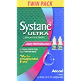 Systane Ultra Lubricant Eye Drops Twin Pack - 10 ml