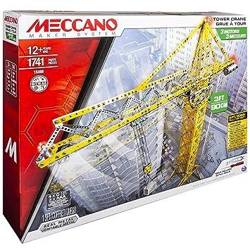 Meccano - 6024905 - Jeu de Construction - Grue Géante