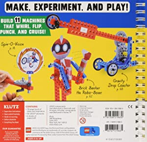 Klutz Lego Gadgets Science & Activity Kit, Ages 8+ (Tamaño: 10.25 Length x 0.75 Width x 10 Height)
