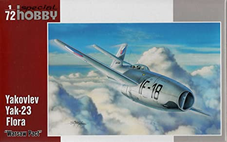 Special Hobby 72242 Yak-23 Flora Warsaw Pact 1:72 Plastic Kit Maquette
