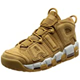 NIKE Men's Air More Uptempo PRM, Wheat-Flax/Flax-Gum Light Brown, 6.5 M US (Color: Wheat, Tamaño: 6.5 M US)