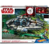 Hot Wheels Star Wars Millennium Falcon Playset (Color: Multi, Tamaño: Standard)