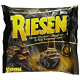 RIESEN Chewy Dark Chocolate Caramel Candy, 9 Ounce Bag, Individually Wrapped Candy, Bulk Candy, Chocolate Candy, Bag of Candy, Sweets for Home, Road Trips or Parties, Great Gift Idea (Tamaño: 9 ounce)