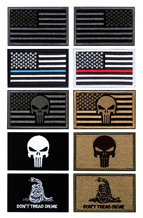 """USA FLAG TACTICAL PATCHES 3/""""X2/"""""""