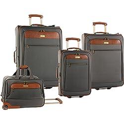 Tommy Bahama 2430P02 Retreat II 4-Piece Luggage Set - Brownstone