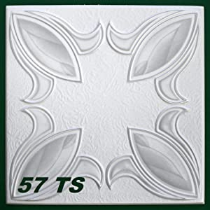 20 m2 Deckenplatten, farbige Platten 50x50cm, Nr.57 TS  BaumarktBewertungen und Beschreibung
