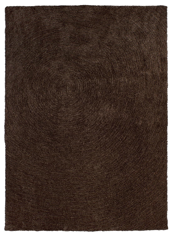 Sona-Lux Teppich handgetuftet braun