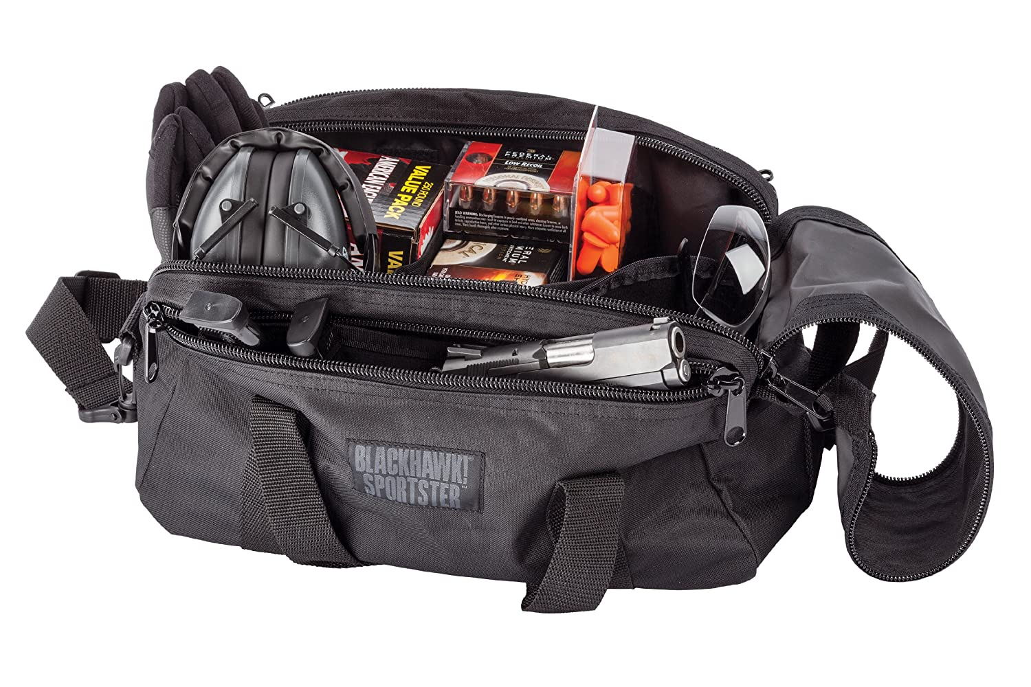 BlackHawk's Sportster Range Bag is a great entry-level option.