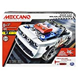 Erector by Meccano, Race Car Model Vehicle Building Kit, for Ages 8 and up, STEM Construction Education Toy