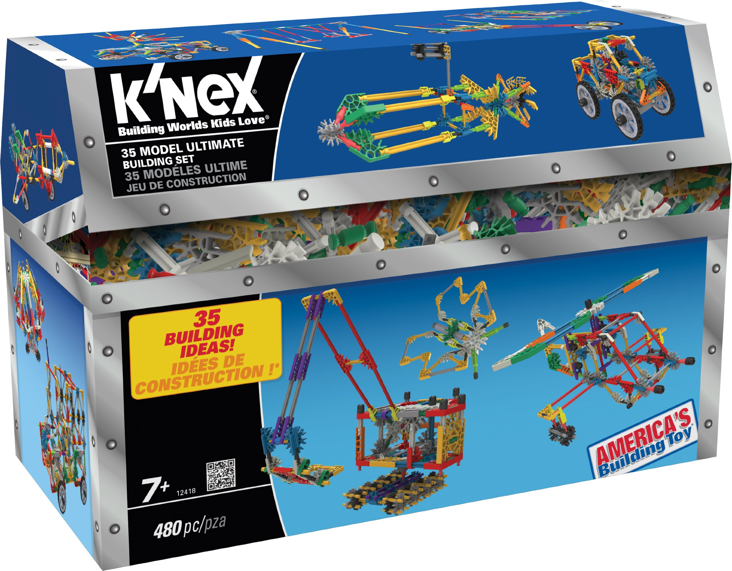 Toy Building Set For Boys : K nex model ultimate building set kit assembly toy for