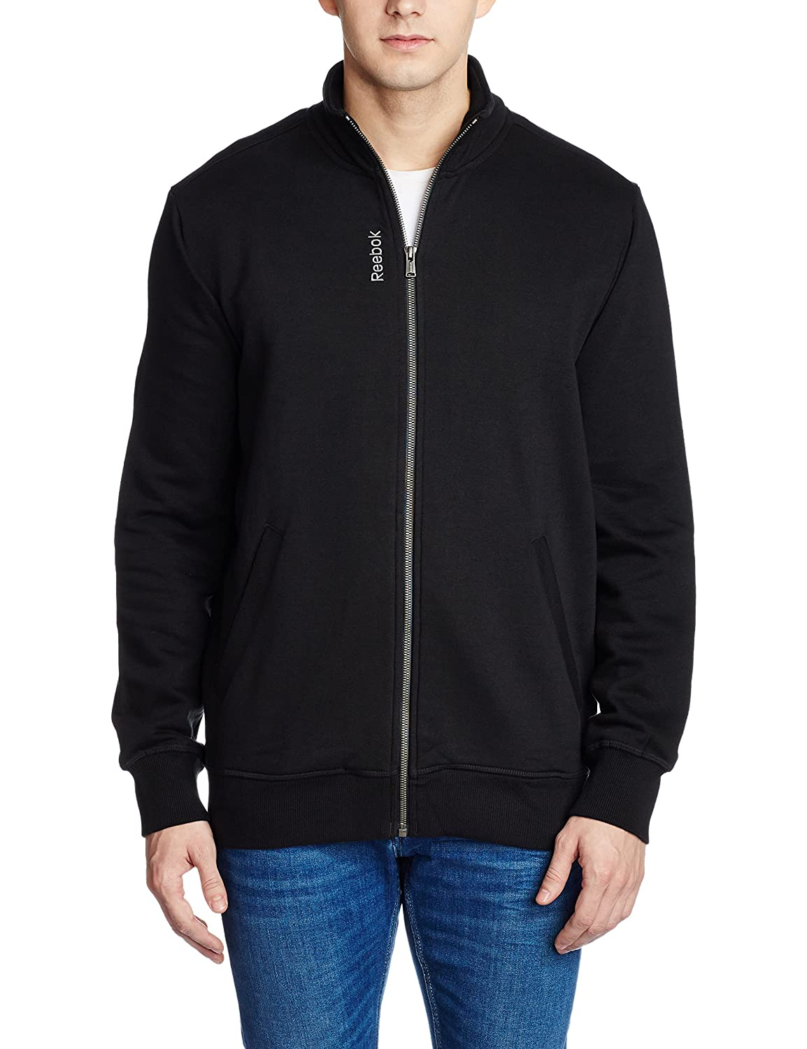 Minimum 40% Off Reebok Men's Acessories By Amazon | Reebok Men's Cotton Track Jacket @ Rs.1,539