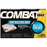 Combat Max Ant Killing Bait Stations, Indoor and Outdoor Use, 6 Count (Tamaño: 6 Count)