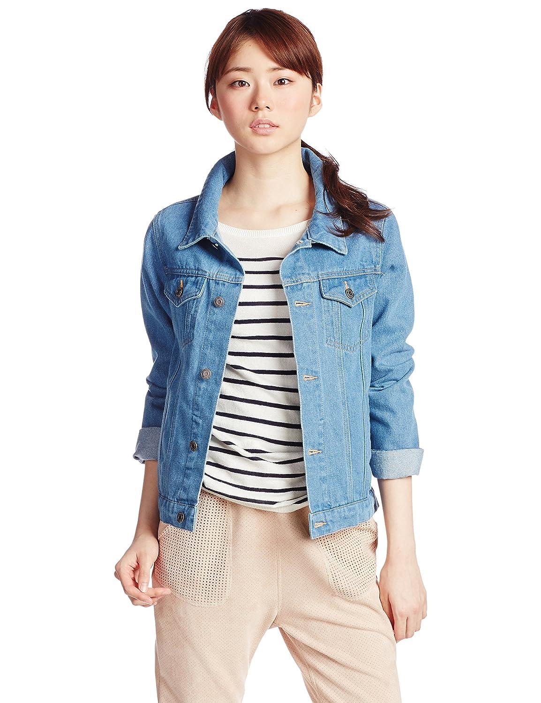 Amazon.co.jp: (ジョルダーノ)GIORDANO デニムGジャン 05375018 68 indigo Blue F: 服&ファッション小物通販