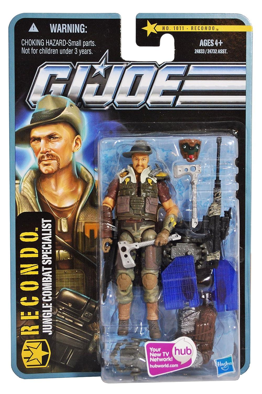 G.I. Joe Recondo Jungle Combat Specialist (für Auspacker) – The Pursuit of Cobra Jungle Assault – Actionfigur von Hasbro als Weihnachtsgeschenk