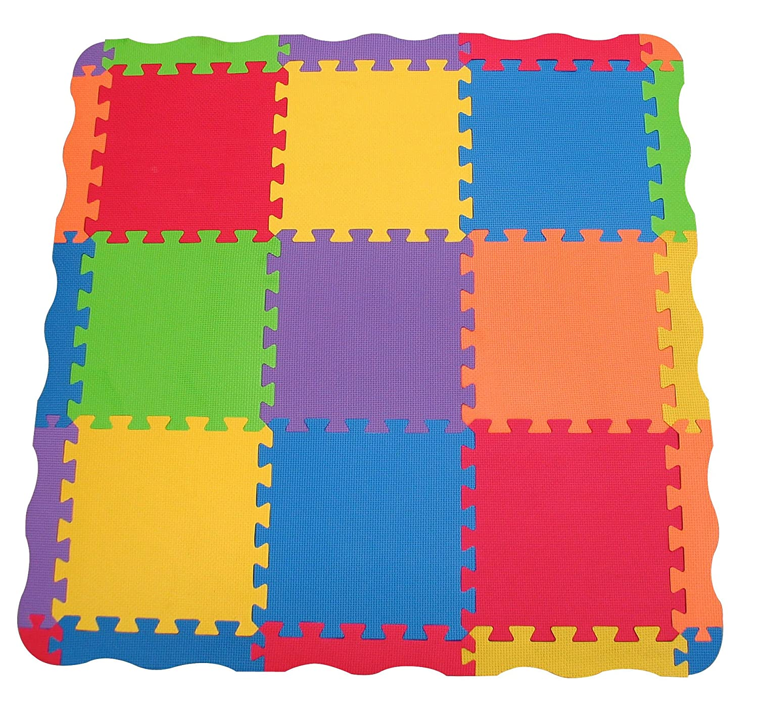 edushape tiles  piece play mat children toddler child kids  - edushape tiles  piece play mat children toddler child kids playmat babycarpet