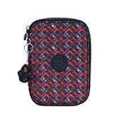 Kipling 100 Pens Printed Case One Size Groovylines (Color: Groovylines, Tamaño: One Size)