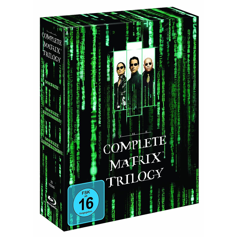 Blu ray Schnäppchen: Matrix – The Complete Trilogy nur 14,97€