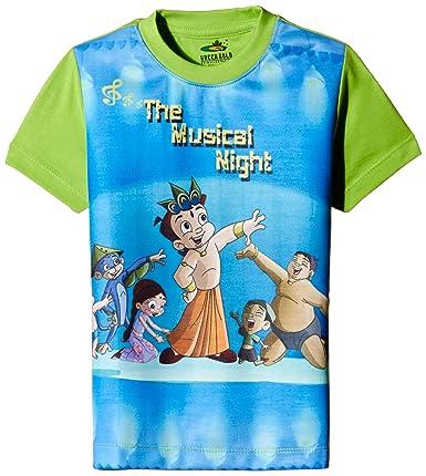 a9f09c3f5 ... Chhota Bheem Boys' T-shirt (GGAPP-CB300C_ Multicolor_5 - 6 years)