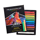 Prismacolor NuPastel Artists Pastels, Assorted Colors, Pack of 12 (Color: Assorted Colors, Tamaño: 12-Count)