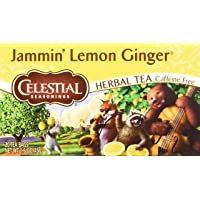 Celestial Seasonings Jammin' 20 Count Lemon Ginger Herbal Tea