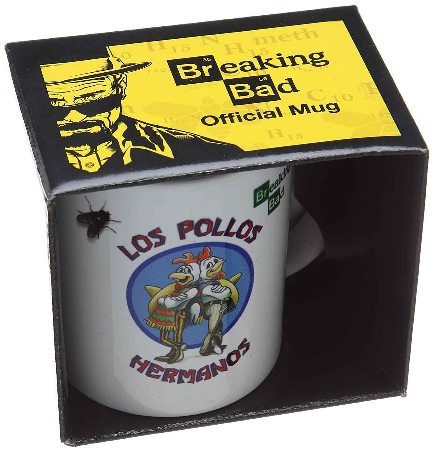 taza Breaking bad los pollos hermanos regalo