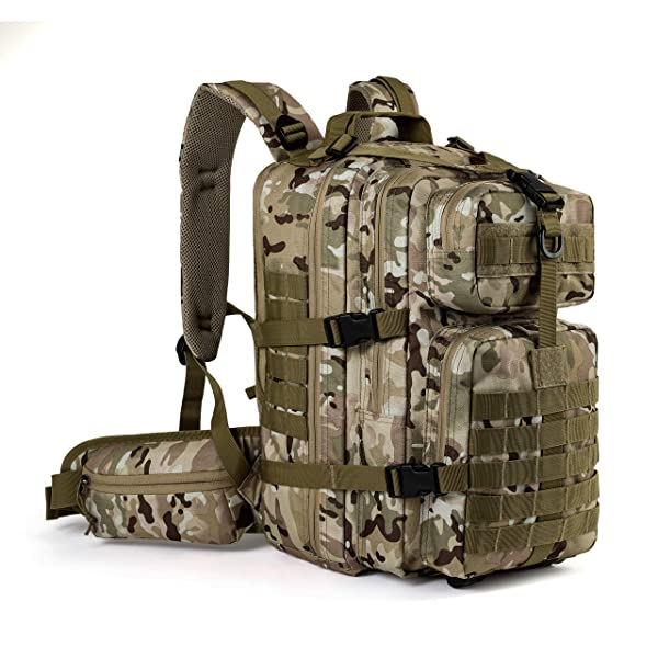 Military Camouflage School Bag Flecktarn Camo BACKPACK Day Pack RUCKSACK Small