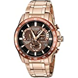 Citizen Men's Eco-Drive Perpetual Chrono Atomic Timekeeping Rose Gold-Tone Watch, AT4106-52X (Color: Rose Gold Tone Stainless Steel, Tamaño: NO SIZE)