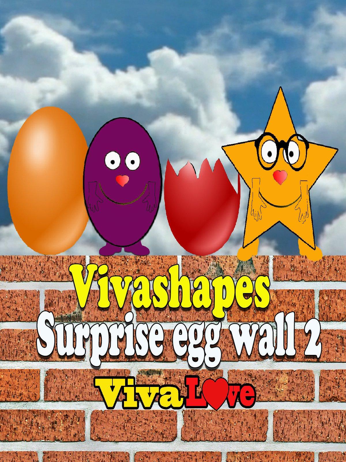 Vivashapes surprise egg wall 2