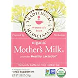 Traditional Medicinals Organic Mother's Milk Herbal Tea 2-pack;32 Count. (Tamaño: Pack of 2)
