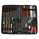 StarTech.com 19 Piece Computer Took Kit in a Carrying Case - Tool kit - CTK500 (Color: One Color, Tamaño: 19 Piece)