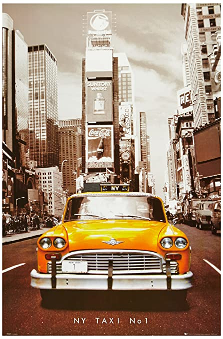 1art1 poster new york taxi cuisine amp maison for Dujardin 41299 chrono bomb night version
